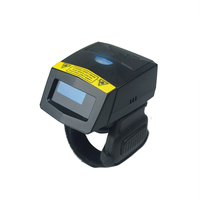 1D Bluetooth Portable Wearable Ring Barcode Scanner FS01 32bit USB Mini Scanner For Windows Mac IOS Android Mobile