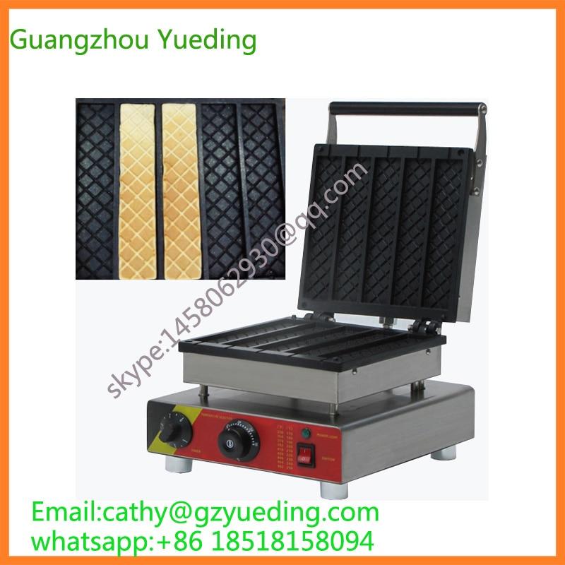 commercial productive waffle cone maker and rectangle shape waffle makerchina mainland