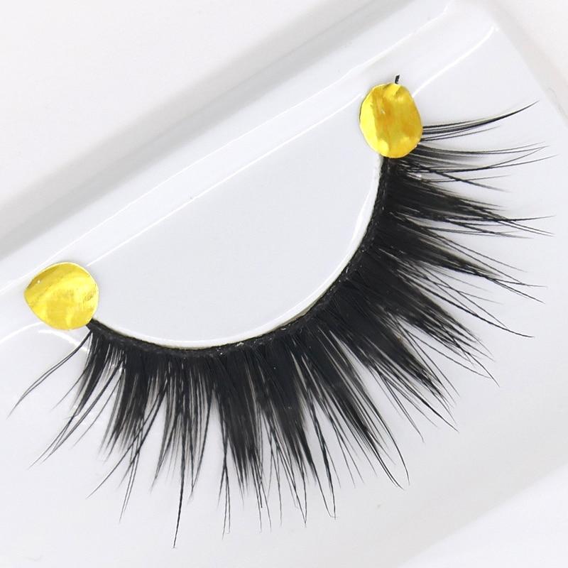 5 Pair/set Long False Eyelashes Black Cross Thick Fake Eyelashes Soft long Make up Eyelash Extensions False Lashes Makeup
