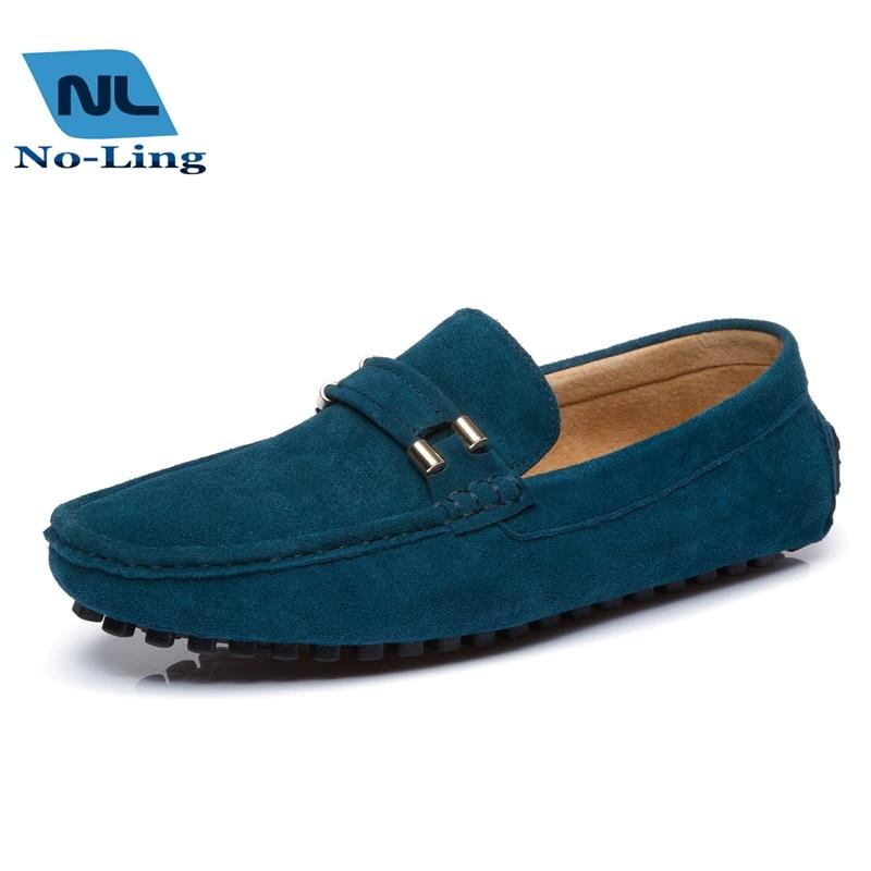 cd33b0f96dc Verde Lofers hombres Casual zapatos del holgazán, 2016 hombres zapatos  planos clásicos, para hombre Slip On mocasines de cuero nobuck, zapatos de  conducción ...