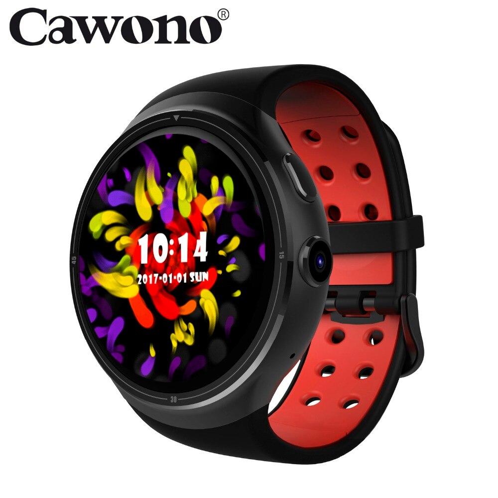 Cawono CA03 GPS WiFi 3G Bluetooth Smart Watch 1GB + 16GB MTK6580 Nano Sim card Wristwatch Heart Rate Tracker Smartwatch relogio цена
