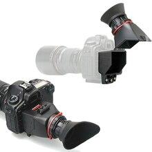 Kamera Nikon için 2.5x LCD Ekran Vizör Büyüteç büyüteç D810 D800 D7000 D7100 D5300 D5100 D5200 D3100 D3200 D3300 D90