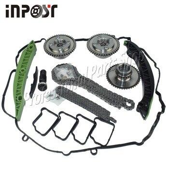 Turbolader Timing Kette Kit Nocken Nockenwelle Getriebe Für Mercedes M271 W204 W212 C/E250 A2710503347 A2710503447 A2710501400 1500