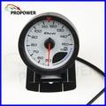"""2.5 """"60 MM DF Avance CR Gauge Medidor de Temperatura del Aceite Gauge Cara Blanca Con Sensor/AUTO CALIBRE"""