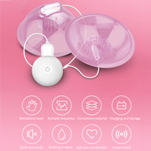 Electric Nipple Sucking Vibrator Breast Nipple Massager With Suction Cups Sucker Vibrator Sex Toy for Women Breast Heath Care