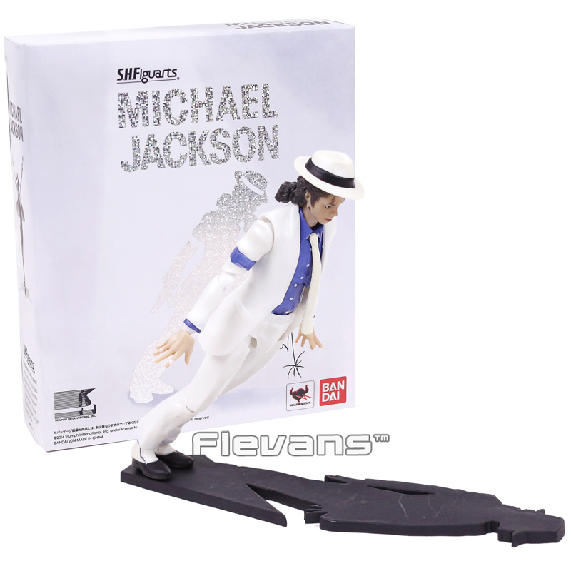 Michael Jackson MJ PVC Smooth Criminal Moonwalk Model Movable Action Figure New