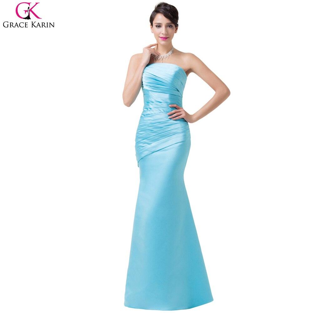 Grace Karin Sexy Women Satin Prom Dresses Long Party Formal Dress ...