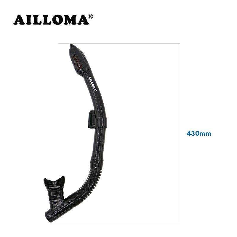 AILLOMA Snorkel seco con soporte ajustable Buceo Snorkel Tubo - Deportes acuáticos - foto 3