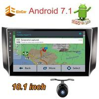 Android7 1 10 1 Inch HD Capacitive Multiple Touch Screen Car Audio Stereo Head Unit GPS