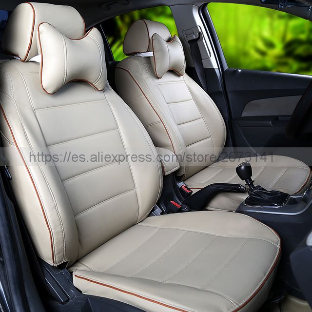New Styling Luxury Dedicated Leather Car Seat Covers Front Rear