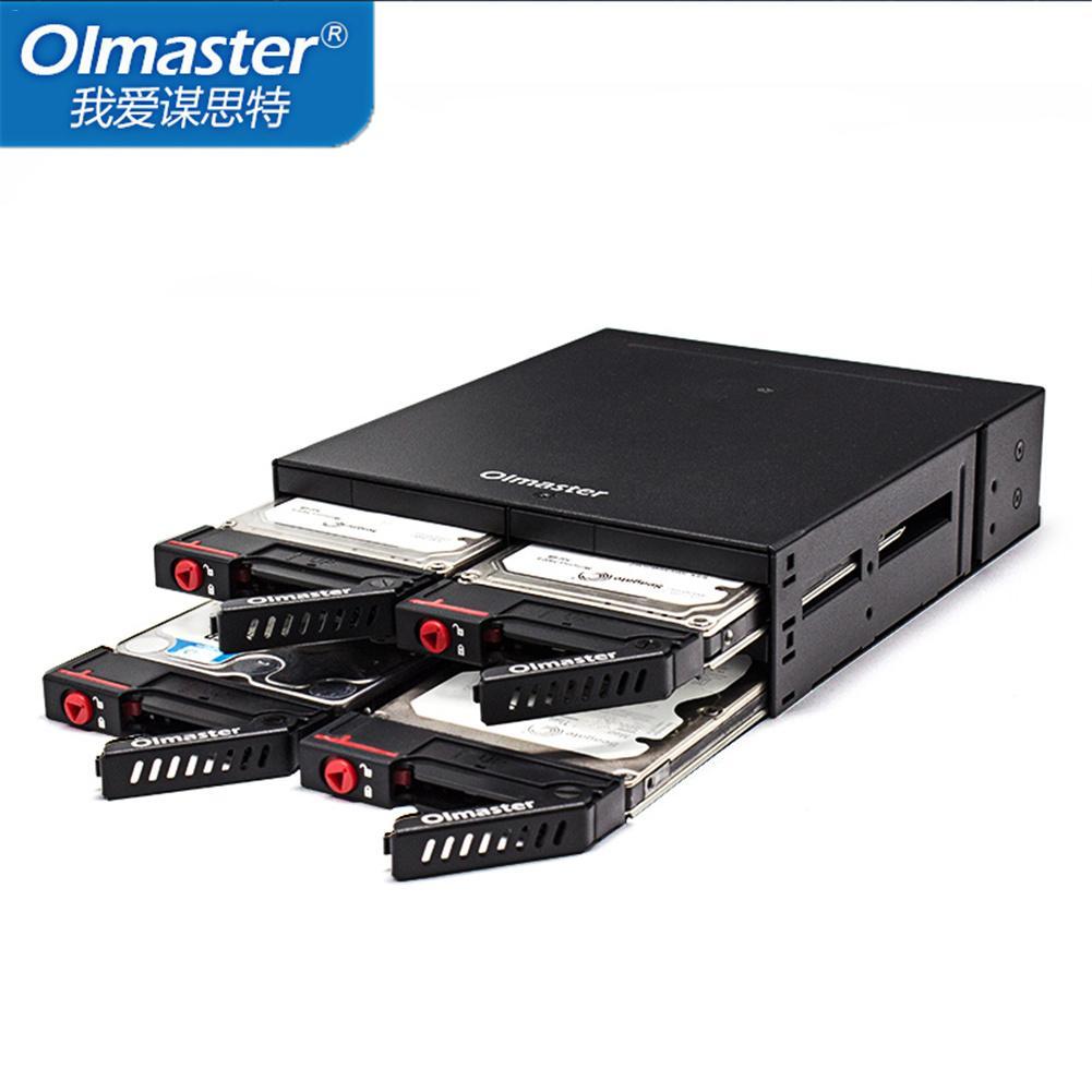 цена на Built-In Internal 4 HDD Enclosure 2.5 Multi-Platform Chassis Optical Drive HDD Enclosure Internal Hard Disk Drive Enclosures