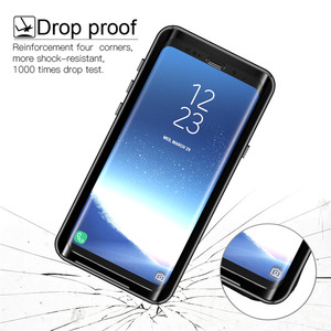 Image 2 - กรณีกันน้ำสำหรับ Samsung Galaxy S9 S9plus กันกระแทก Dirtproof กรณีเต็มรูปแบบสำหรับ Samsung S 9 S9 Plus ว่ายน้ำกรณี