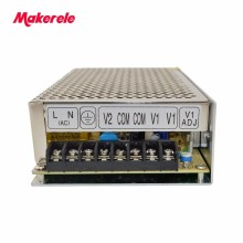 D-120C Switching Power Supply 120W 12V/24V,Double Output AC-DC For Led Strip,transformer AC 110v/220v To DC 12v/24v