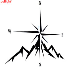 NSWE Fashion Compass Rose Navigate 4x4 Offroad Car Sticker Vinyl Decals(China)