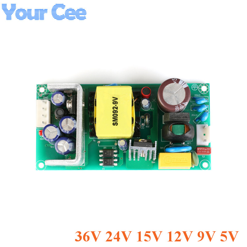 AC-DC 40W Isolated <font><b>Power</b></font> <font><b>Module</b></font> Buck Converter <font><b>Module</b></font> Industrial Switching <font><b>Power</b></font> <font><b>Supply</b></font> Bare Board <font><b>220V</b></font> to 5V 9V <font><b>12V</b></font> 15V 24V 36V image