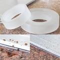 Водостойкая самоклеящаяся лента для горячей мойки  самоклеящаяся прозрачная лента для ванной комнаты  самоклеящаяся лента для герметизаци...