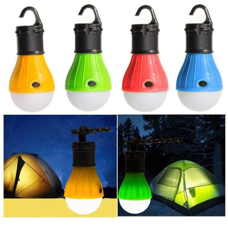 Portable Hanging Camping Lantern LED Outdoor Lights SOS Bulb Lamp For Camping Tent Fishing Outdoor Tool Emergency Lighting
