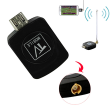 Mini DVB-T Digital Mobile TV receiver for Android Phone or Pad Watch Live-TV Micro USB TV tuner