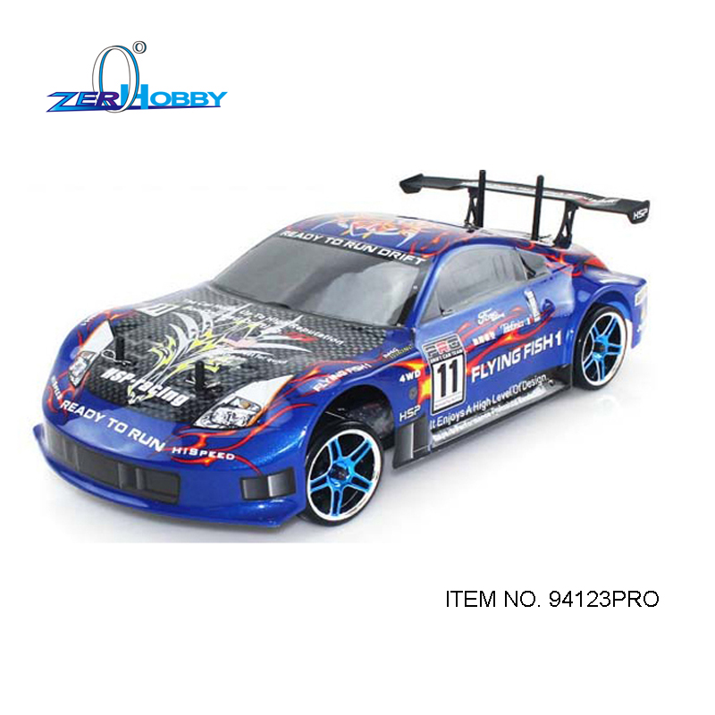 HSP Rc Car 1/10 Electric Power 4wd On Road Rc Drift Car Brushless Racing FlyingFish 94123PRO High Speed Hobby Remote Control Car hsp high speed 4poles 3650 brushless motor 3300kv 4300kv 2500kv 2720kv 4000kv for rc car boat 1 10 94123 rc car buggy monster