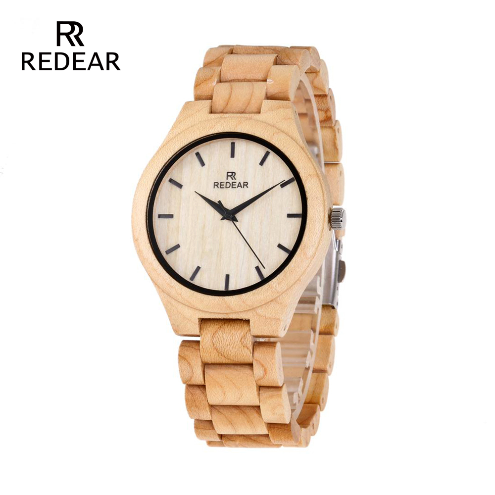 REDEAR Pine Wooden Quartz Watch Season Gift Edition - Әйелдер сағаттары - фото 1