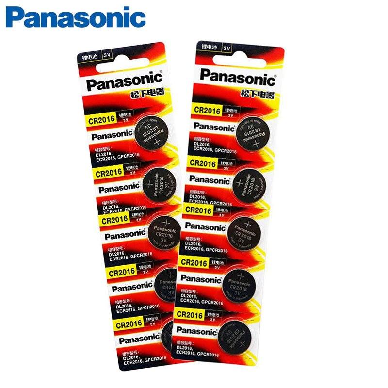 10 шт., оригинальный новый аккумулятор для PANASONIC cr2016 3 в, кнопочные элементы, батарейки для часов, компьютера cr 2016| |   | АлиЭкспресс