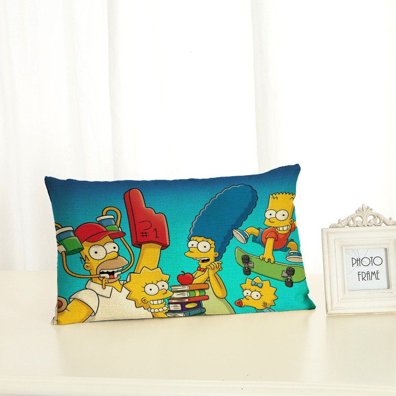 New <font><b>Pillow</b></font> <font><b>Case</b></font> <font><b>30x50</b></font> <font><b>Pillow</b></font> Cover Clan Cartoon Ornamentation Cushion Cover for Sofa Home Decoration Lumbar <font><b>pillow</b></font> Pillowcase image