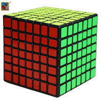 Moyu MF Classroom MF7 Magic Cube 7Layers Cube Seven Layer Black Cube Puzzle Toys For Children
