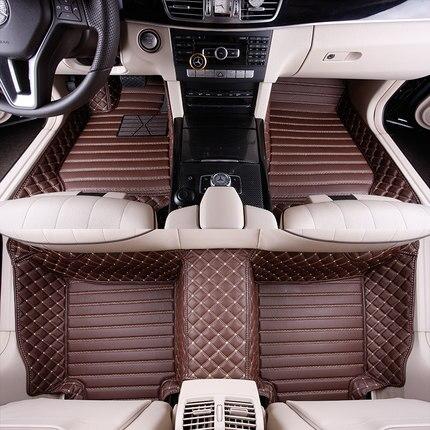 цена на Custom full covered special car floor mats for Renault Duster Fluence Keloes Kadjia Magene waterproof durable carpets