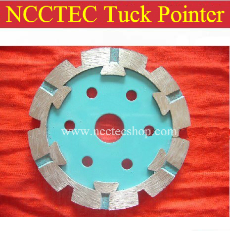 3.2'' Diamond Tuck Pointer With Protective Teeth FREE Shipping |80mm Tuck Pointing Blade For Grinding Or Cutting Uneven Surface