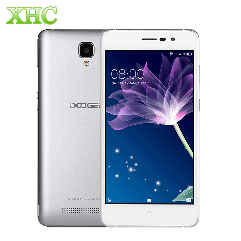 DOOGEE X10 ROM 8GB 5 0 inch 3360mAh Smartphone Android 6 0 MTK6570 Quad Core 1