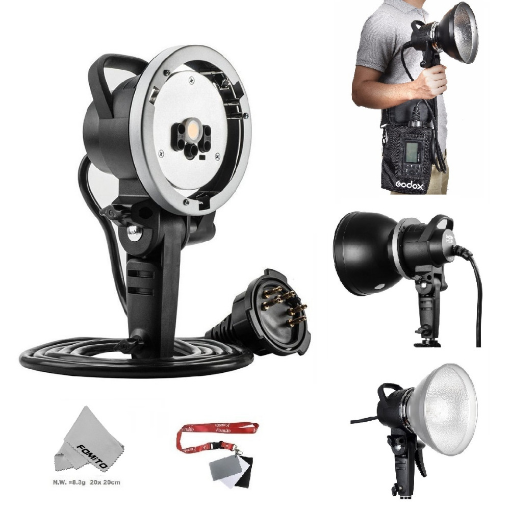 Fomito Godox AD H600 AD H600B 600W Bowen Portable Off Camera Light Lamp Flash Head Wireless Strobe Flash for Godox AD600B