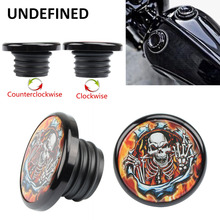 Fuel-Tank-Cap-Cover XL1200 Harley Sportster Motorcycle 72 Flame for Xl1200/Xl883/48/..