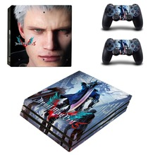 Devil May Cry 5 PS4 Pro Skin Sticker Vinyl Decal