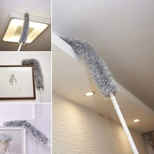 Retractable Duster Microfibre Duster Curved Duster Dust Collector and Cleaner Household Cleaning Tools & Accessories