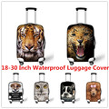 FORUDESIGNS Elastic 3D Animal Print Luggage Covers Travel popular suitcase Protective Covers 18-28Inch Suitcase Protective Cover