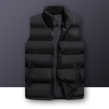 Wordless Brand Sleeveless Vest Jacket Mens Outwear Solid Cotton Vest Coat Thicken Waistcoat Male Winter Vest Men Gilet Homme 6XL