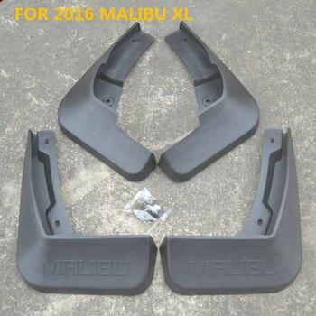 4 pièces garde-boue pour chevrolet MALIBU 2012 13 14 16 garde-boue garde-boue accessoires de voiture en plastique souple garde-boue spécial garde-boue