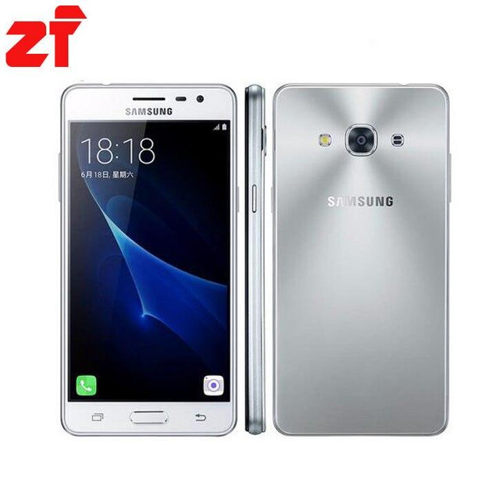 "Original new Samsung Galaxy J3 Pro J3110 4G LTE Mobile phone Snapdragon 410 Quad Core Phone Dual SIM 5.0"" 8.0MP NFC Smartphone"
