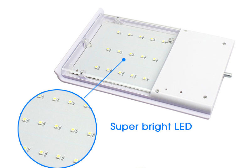 solar lâmpada de parede luzes rua sensor