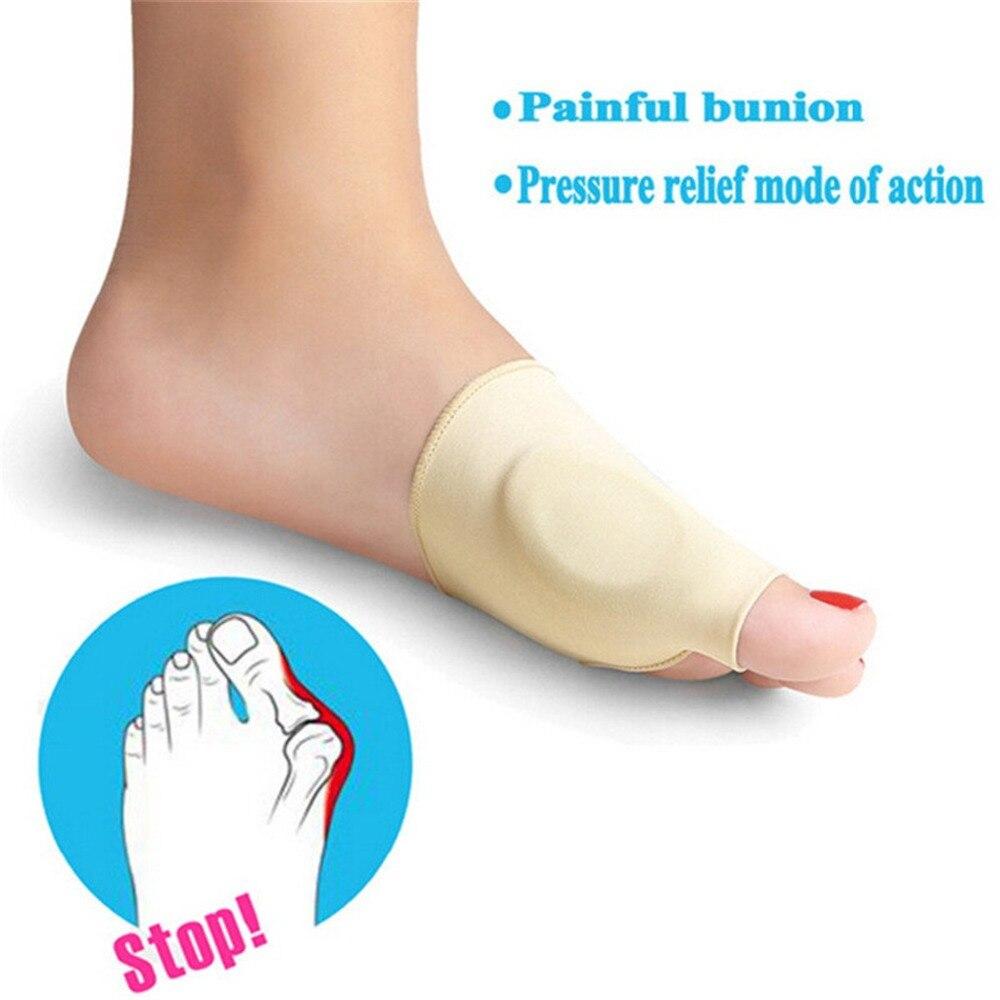 2pcs Bunion Corrector Gel Foot Toe Separator Hallux Valgus Protector Adjuster Pain Relief Straighten Bent Toes Foot Care Tool