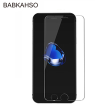 9H 2pcs Screen Protector on the For iphone 8 tempered glass Anti-Explosion Glass Protection Film