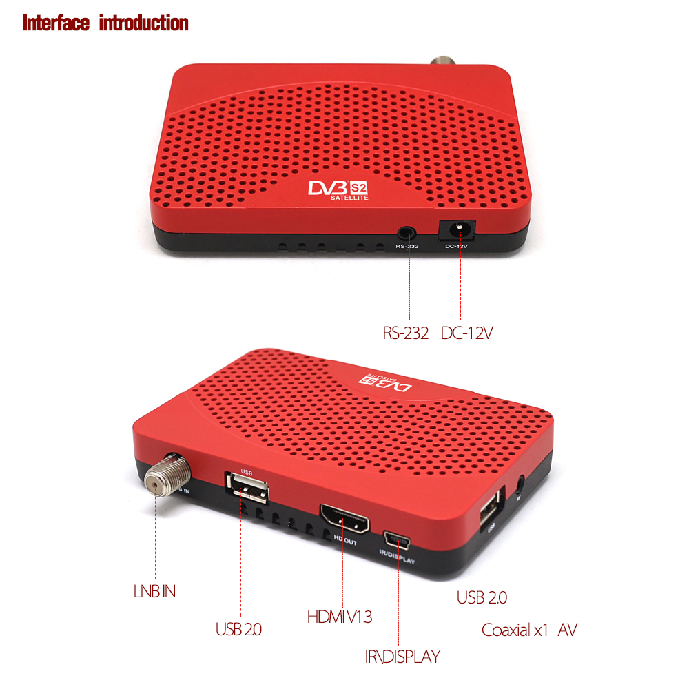 Image 3 - Global Digital Receptor TV Tuner DVB S2 Satellite Receiver IPTV M3u Wifi Youtube  1080P DVB S2 Cccam Newcam Vu Biss Key FTA-in Satellite TV Receiver from Consumer Electronics