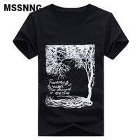 2017 New Arrival Clothing Summer Short Sleeve Printing Design Male Tees Fashion Casual Home Men T-shirt High Quality Large Size