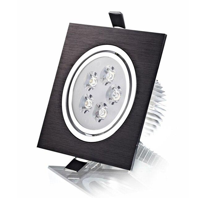 aliexpress koop hoge luxe 7 w led spot lights vierkante