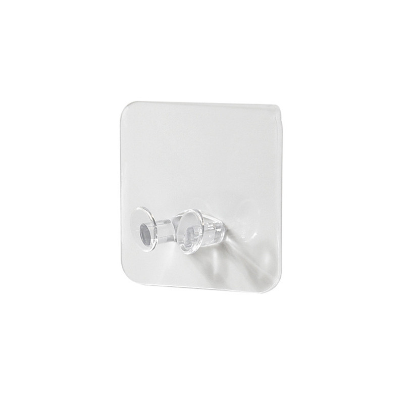 2pc Wall Storage Hook Power Plug Socket Holder Wall Adhesive Hanger Home Office