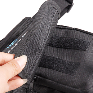 Image 4 - Multi Purpose Fishing Bag 19.5*12.5*9.5cm Waterproof Outdoor Leg Bag Canvas Portable Multifunction Fishing Tackle Bag Backpack