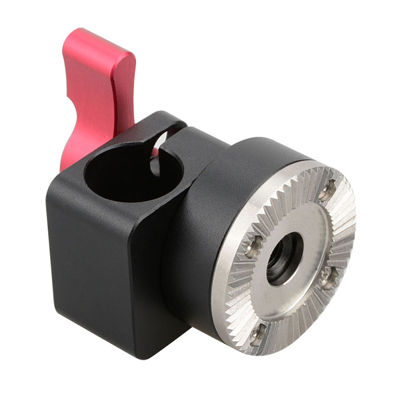 Camvate mm rod clamp with arri rosette bolt on mount for