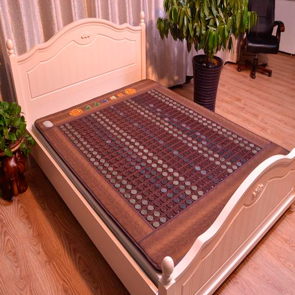 New! Good Tourmaline Mat Beauty Mattress Jade Physical Therapy Health Care Pad Heat Bed Cushion Free Shipping