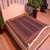 New Good Tourmaline Mat Beauty Mattress Jade Physical Therapy Health Care Pad Heat Bed Cushion Heat