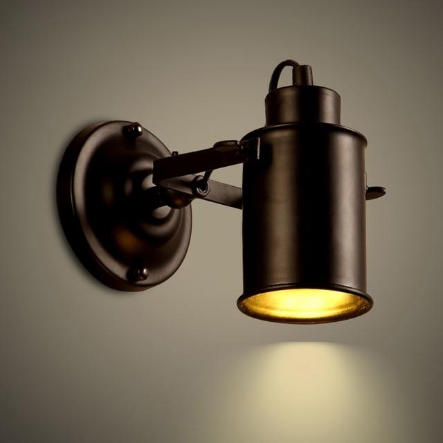 Wall Lamp Vintage Bedside light retro Stair Lamp Wall Lights GU10 ...